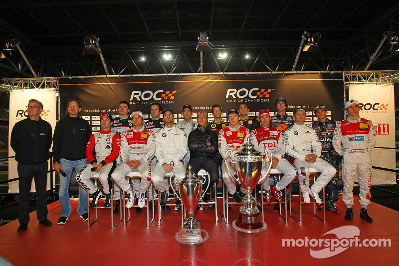 Drivers press conference