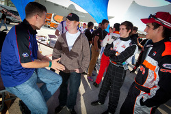 A.J. Allmendinger, Cole Whitt and Jorge Cevallos