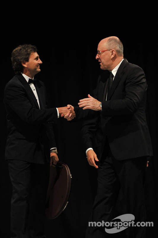 The inaugural V8 Supercar Champion Glenn Seton inducted into the Hall of Fame