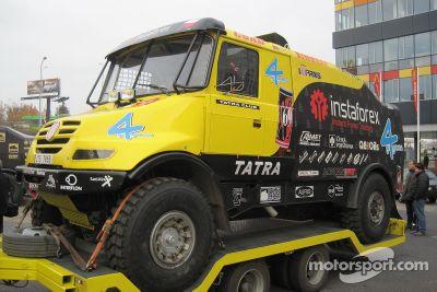 Loprais Tatra Team presentatie