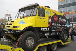 Loprais Tatra Team presentation