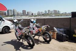 La moto de Jacek Czachor