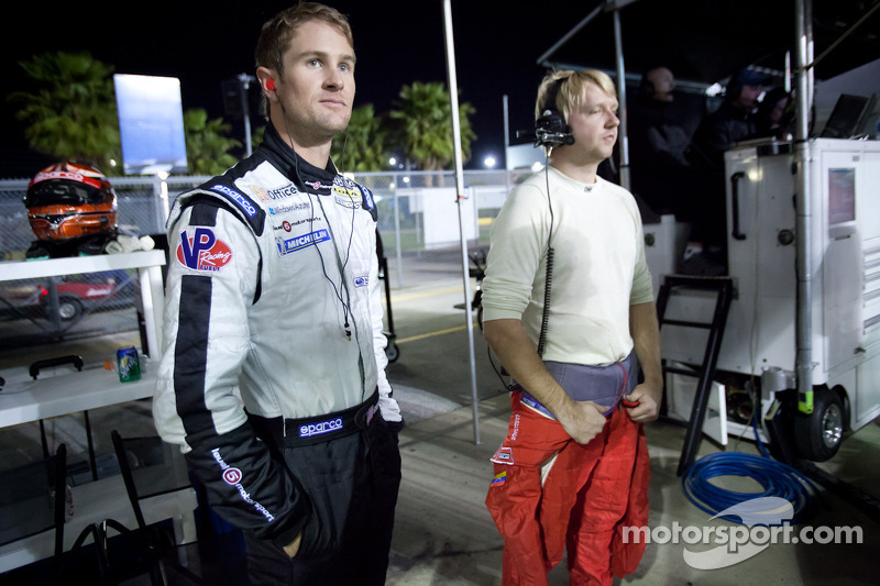 Ryan Hunter-Reay and Ryan Dalziel