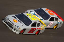 A.J. Allmendinger, Penske Racing Dodge, Brad Keselowski, Penske Racing Dodge