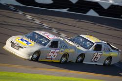 Martin Truex Jr., Michael Waltrip Racing Toyota and Clint Bowyer, Michael Waltrip Racing Toyota