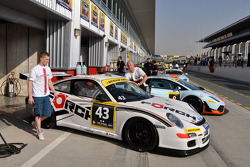 #43 Förch Racing Porsche 997 GT3 Cup: Robert Lukas, Mariusz Miekos, Adam Kornacki, Florian Scholze, Stefan Bilinski