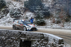 Francois Delecour and Dominique Savignoni, Ford Fiesta RS WRC, M-Sport Ford World Rally Team