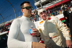 Daytona 24 Heritage cars photoshoot: Graham Rahal and Dale Miller