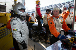 Byron Defoor waits for his last stint