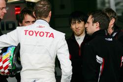 Kazuki Nakajima, Alexander Wurz