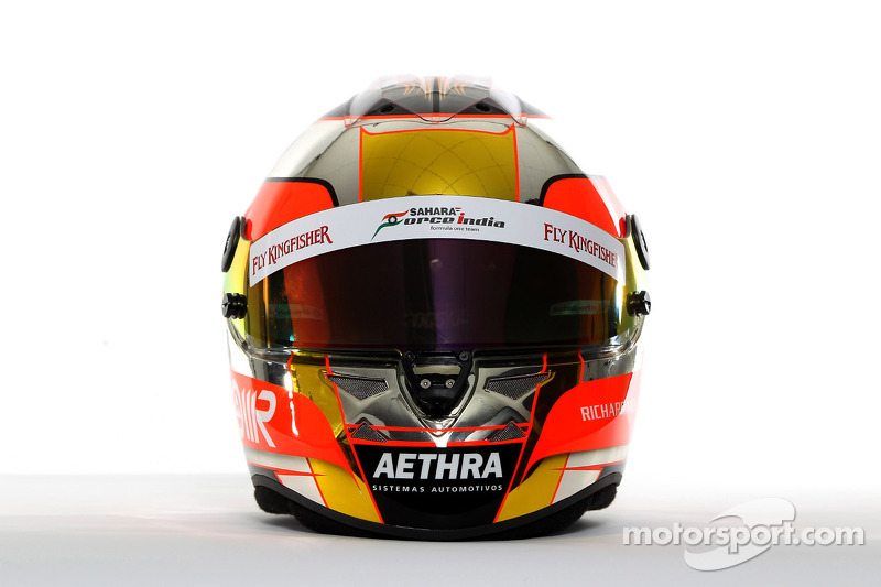 The helmet of Jules Bianchi