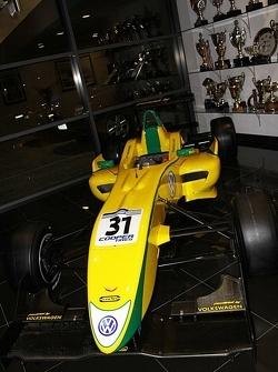 Felipe Nasr's F3 Car