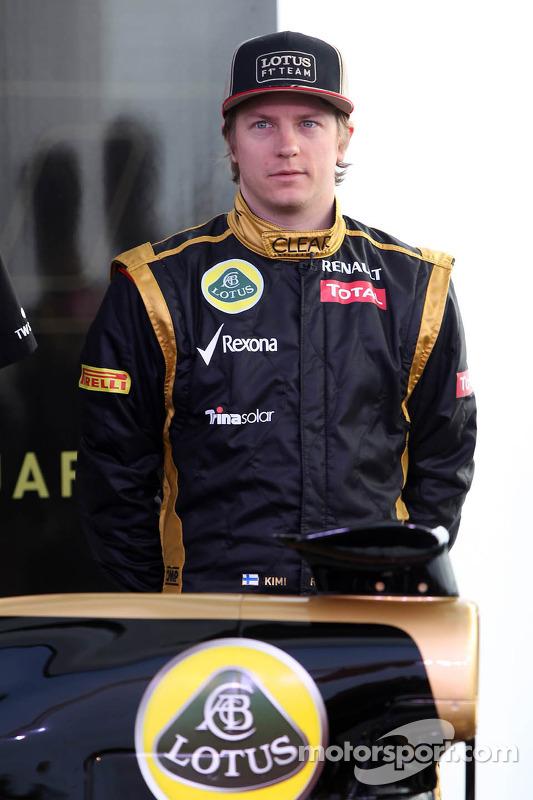 Kimi Räikkönen, Lotus Renault F1 Team