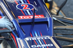 Mark Webber, Red Bull Racing air vent