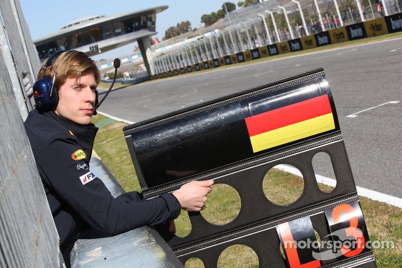 Heikki Huovinen, nieuwe physio van Sebastian Vettel, Red Bull Racing