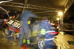 Henning Solberg en Ilka Minor, Ford Fiesta RS WRC
