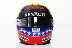Pastor Maldonado, Williams F1 Team, kask