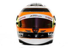 Nico Hulkenberg, Sahara Force India Formula 1 Team, kask