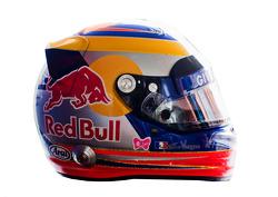 Jean-Eric Vergne, Scuderia Toro Rosso , kask