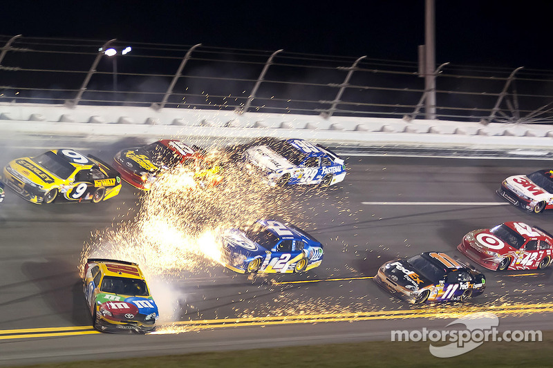 NASCAR, Daytona 2012: Kyle Busch, Joe Gibbs, Toyota Camry