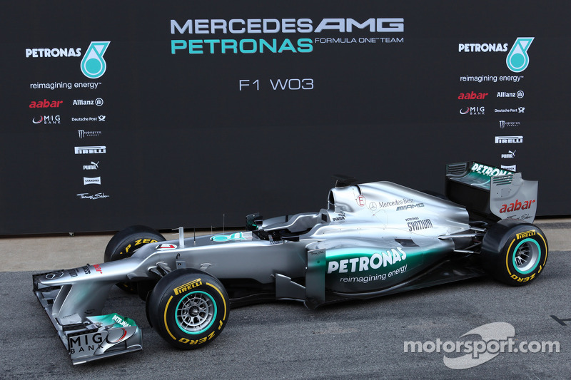 The New Mercedes W03