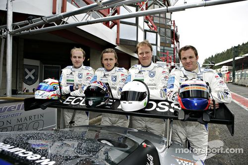 Ecurie Ecosse enters Blancpain Series and British GT