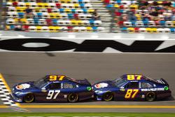 Bill Elliott, Nemco Toyota, Joe Nemechek, NEMCO Motorsports Toyota