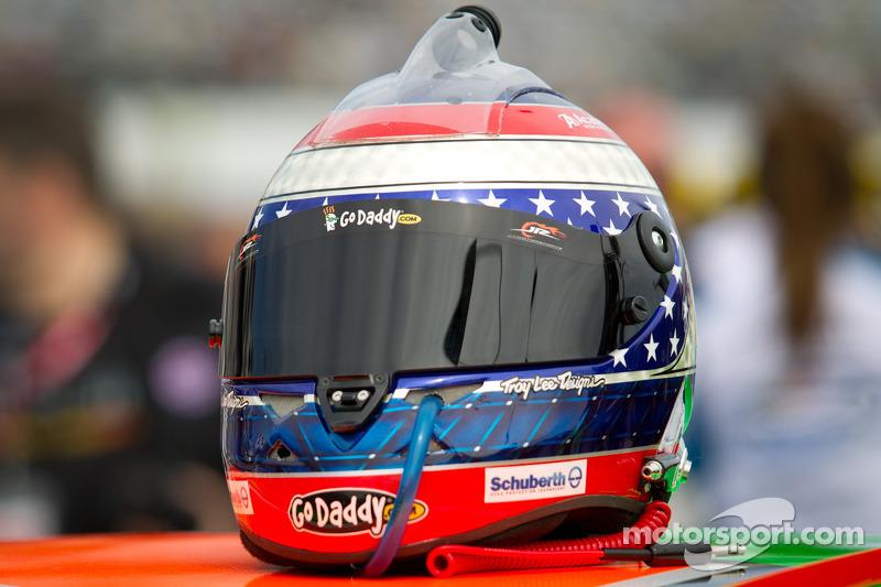 Helm van Danica Patrick, JR Motorsports Chevrolet