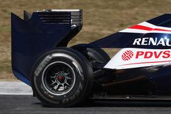 Williams F1 Team  rear wing