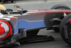 Lewis Hamilton, McLaren Mercedes tea tray