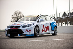Team Aon's Ford Focus