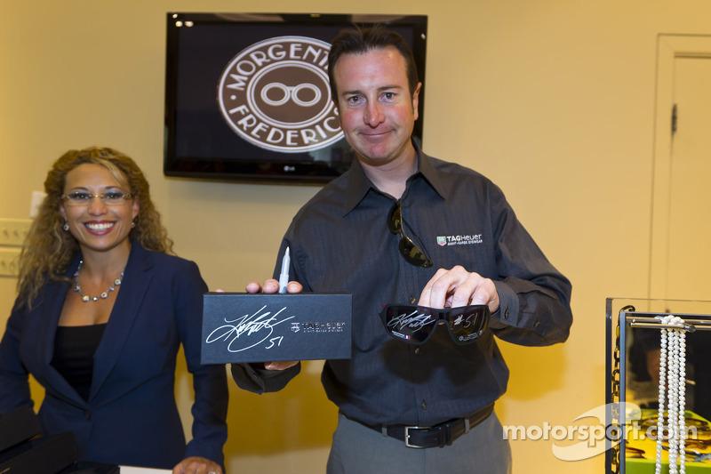 Kurt Busch, Phoenix Racing Chevrolet eyewear evenement