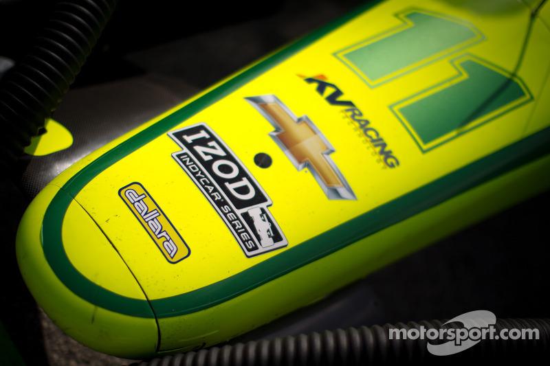 Car detail for Tony Kanaan, KV Racing Technology Chevrolet