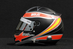 Maria de Villota, test driver, Marussia F1 Team helmet