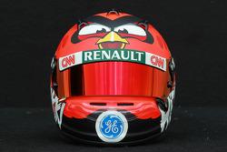 Helm von Heikki Kovalainen, Caterham F1 Team