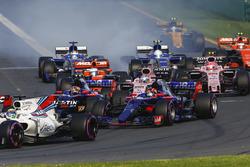 Фелипе Масса, Williams FW40, Даниил Квят, Scuderia Toro Rosso STR12, Карлос Сайнс-мл., Scuderia Toro Rosso STR12, Серхио Перес, Force India VJM10, и остальные