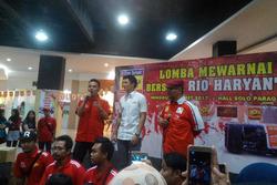 Lomba mewarnai bersama Rio Haryanto