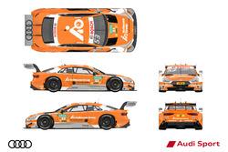 2017赛季奥迪赛车涂装设计