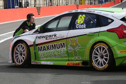 Josh Cook, Team Parker with Maximum Motorsport Ford Focus
