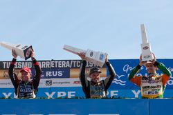 Podyum: Guillermo Ortelli, JP Carrera Chevrolet, Josito Di Palma, Laboritto Jrs Torino, Jonatan Castellano, Castellano Power Team Dodge