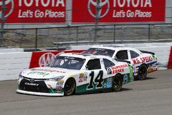 J.J. Yeley, TriStar Motorsports, Toyota; Brandon Brown, King Autosport, Chevrolet