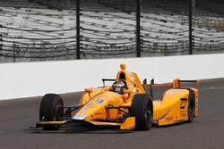 Fernando Alonso Indianapolis testi