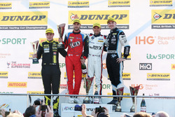 Podium: 1. Colin Turkington, West Surrey Racing, BMW 125i M Sport; 2. Tom Ingram, Speedworks Motorsport, Toyota Avensis; 3. Jack Goff, Eurotech Racing, Honda Civic Type R; Senna Proctor, Power Maxed Racing, Vauxhall Astra