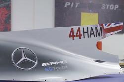 Livrea Mercedes AMG F1 W08