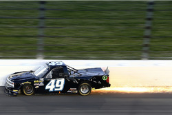 Crash mit Funkenflug: Wendell Chavous, Chevrolet