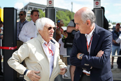 Bernie Ecclestone, Vicenta Aguilera, President of the Circuit de Catalunya Consortium