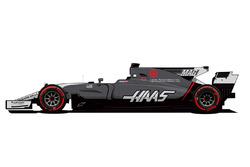 Haas Monaco livery onthulling