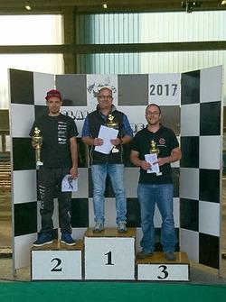 Marcel Maurer, Jean-Marc Salomon, Philip Egli, podium