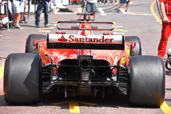 Ferrari SF70-H rear detail