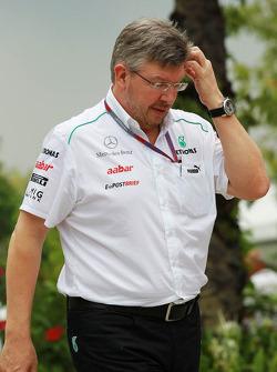 Ross Brawn, Mercedes GP Team Principal